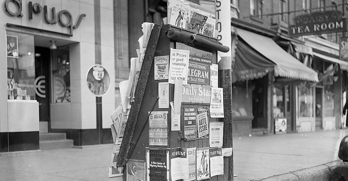 old-newstand